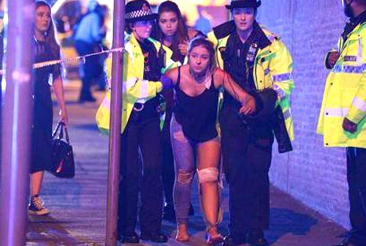 attacco terrorismo manchester